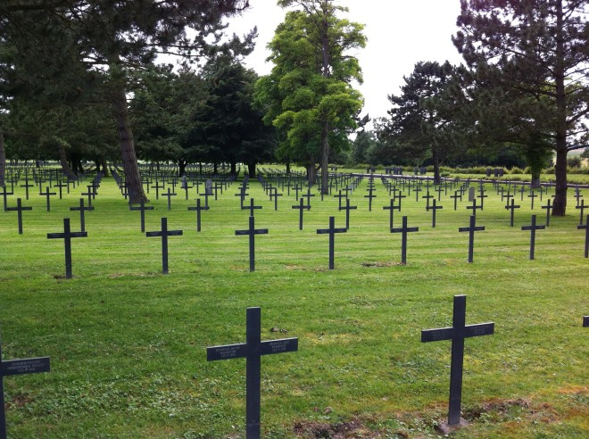 77 Neuville St Vaast cemetery
