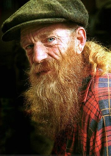 ginger haired old man
