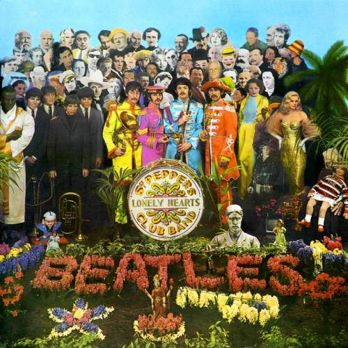 beatles-sgt pepper album cover