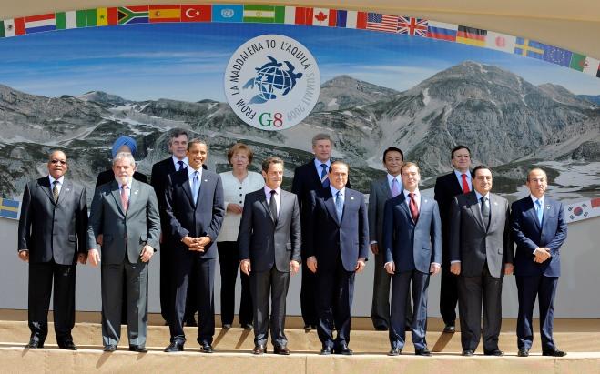 G8: TUTTI LEADER A COPPITO, VERTICE L'AQUILA