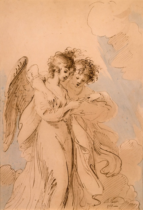 two-angels-singing