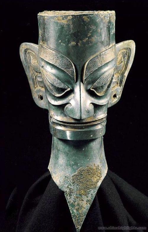 Bronze head-5