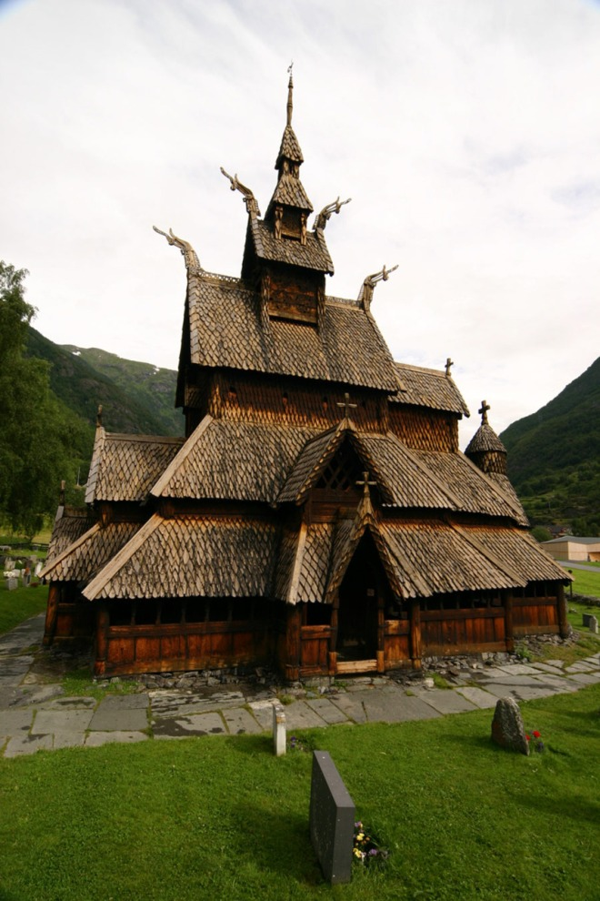 norwegian-stave-church