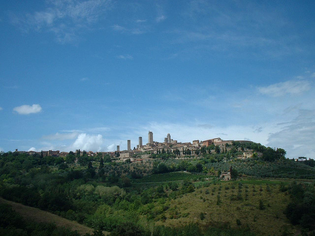 San Gimignano in distance-2
