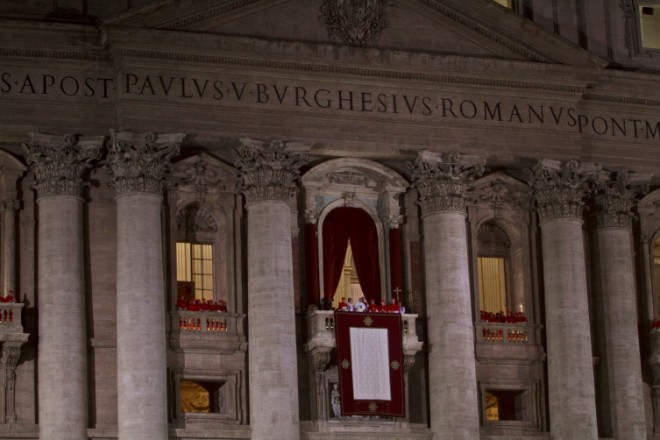 St. Peters Square, Pope Francesco