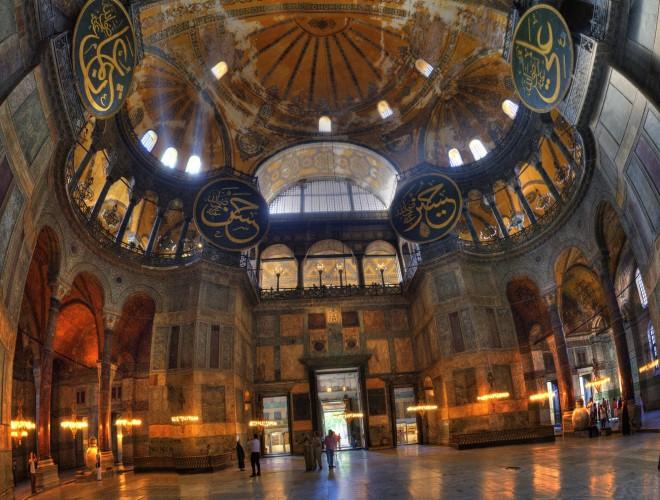 istanbul-hagia sophia-interior-1