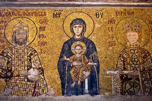istanbul-hagia sophia-mosaics-5