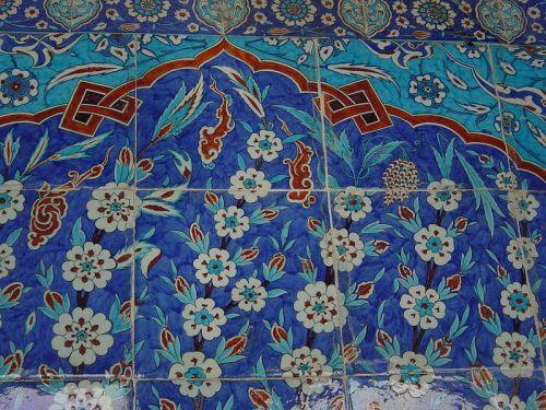 tiles-2-Rüstem Pasha Camii Istanbul