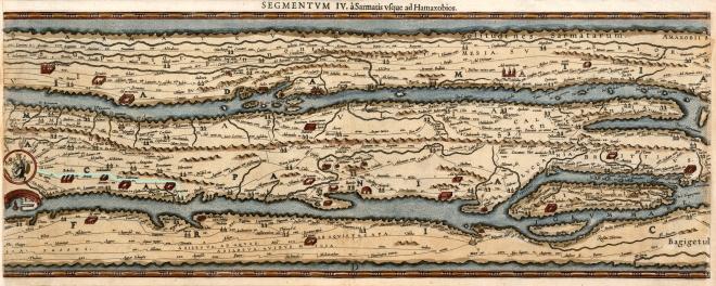 peutinger map segment IV