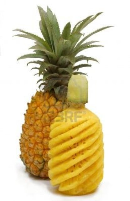pineapple unprepared and prepared