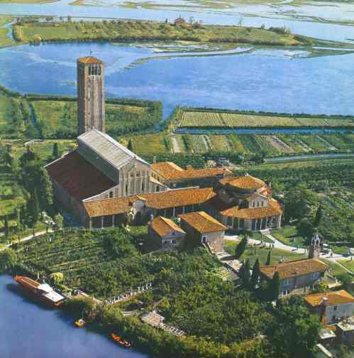 Torcello Aerial view