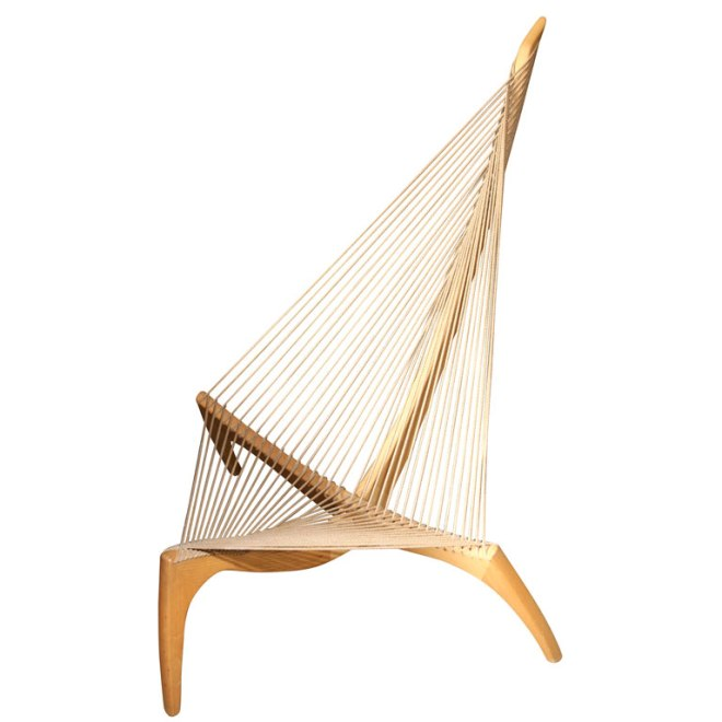 chair-danish harp chair