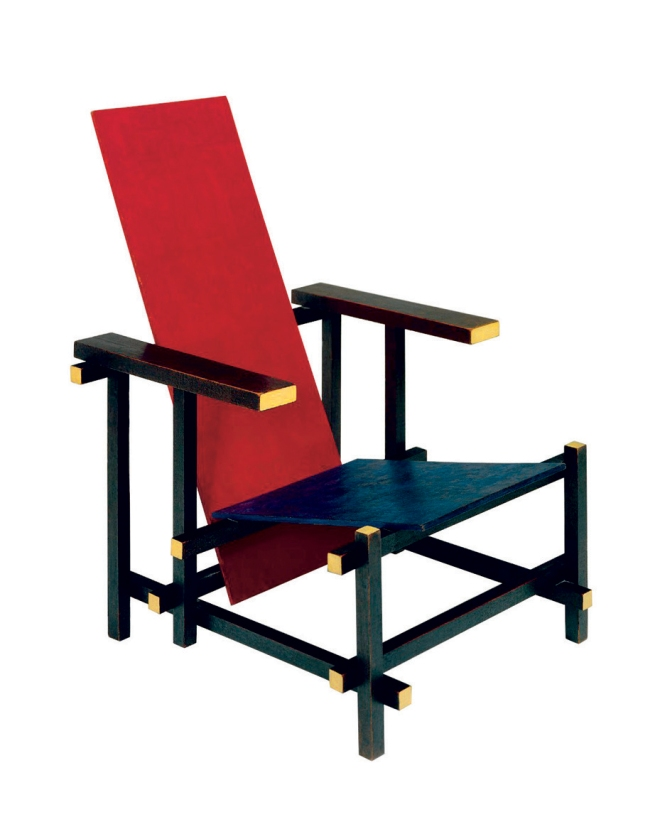Chair-Mondrian chair
