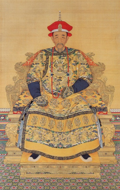 throne-Qing Emperor Kangxi