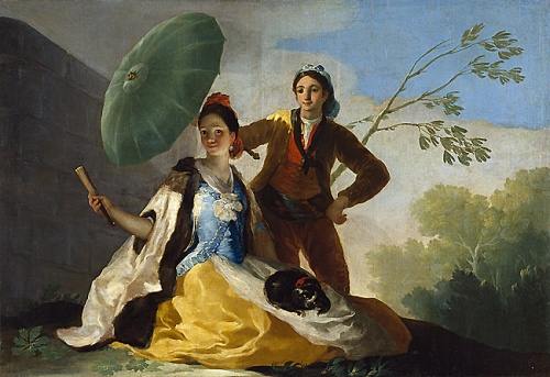 00 Goya with parasol