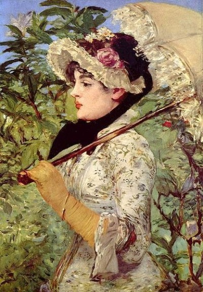 00 Manet with Parasol 1881