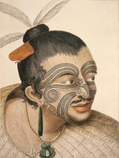 Maori Chief 1784