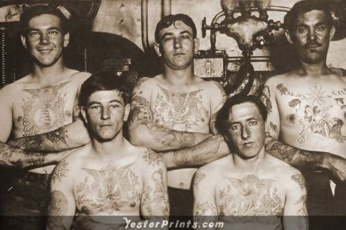 tattooed sailors