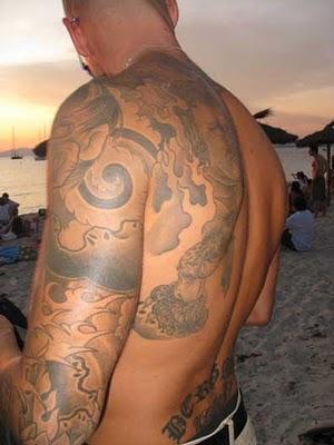tatuaggio spiaggia
