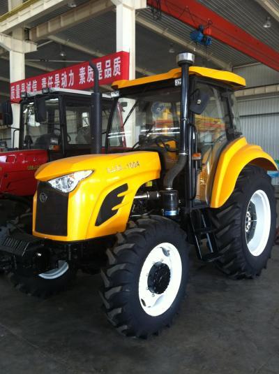 tractors inside