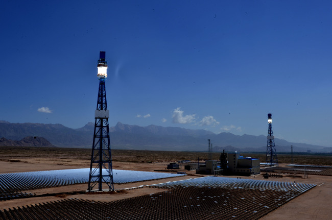 CHINA-QINGHAI-SOLAR THERMAL POWER PLANT (CN)