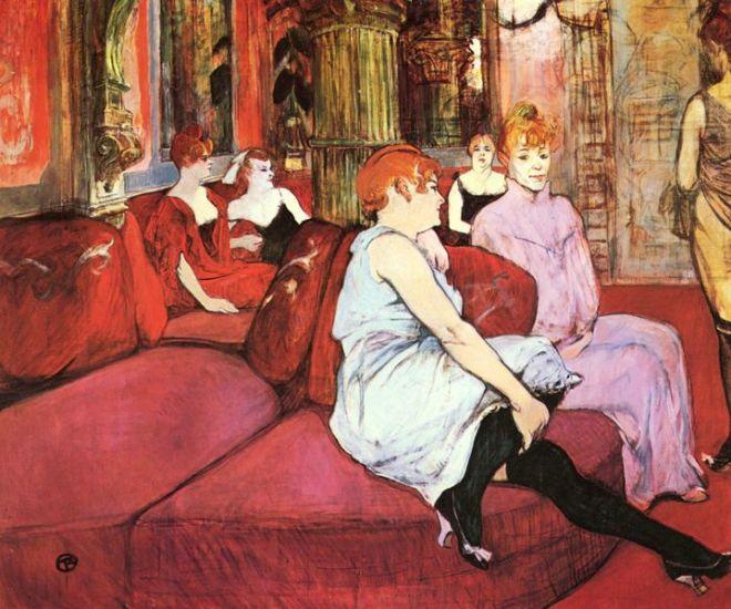brothel Toulouse Lautrec