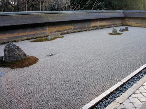 Kyoto Ryoanji-Rock-Garden