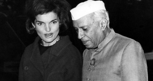 Nehru-and-Jackie-Kennedy
