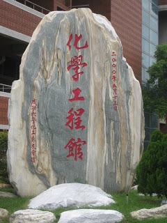 rock in front of building-1