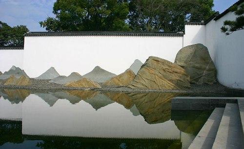 rock landscape Suzhou IM Pei museum