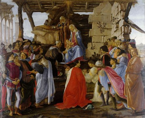 Botticelli-adoration of the magi