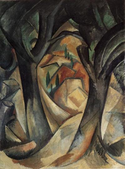 Braque-big-trees-at-estaque-1908