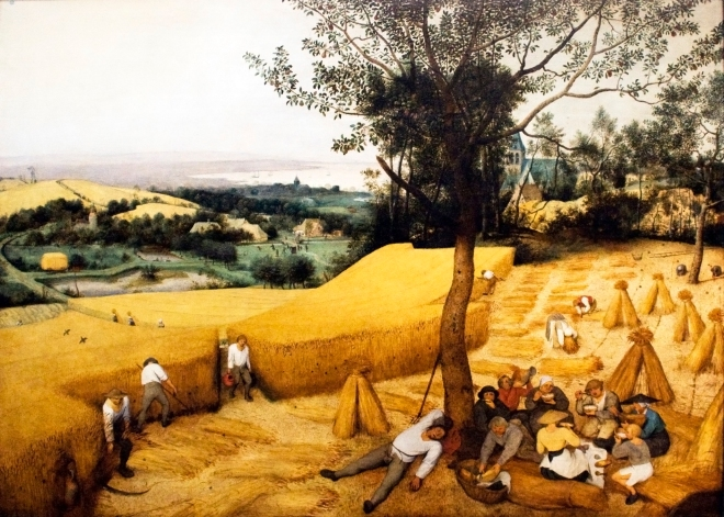 Bruegel-The Corn Harvest (August)-