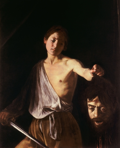 caravaggio-david with goliath