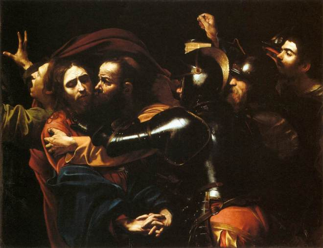 Caravaggio-Taking of Christ