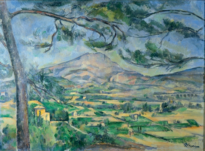 Cézanne-Mont St Victoire