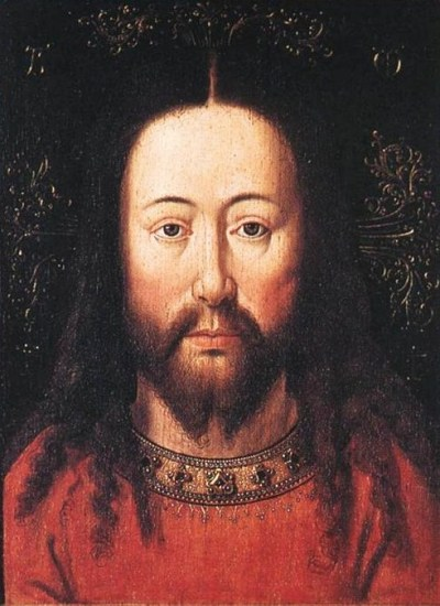 Christ by Jan van Eyck