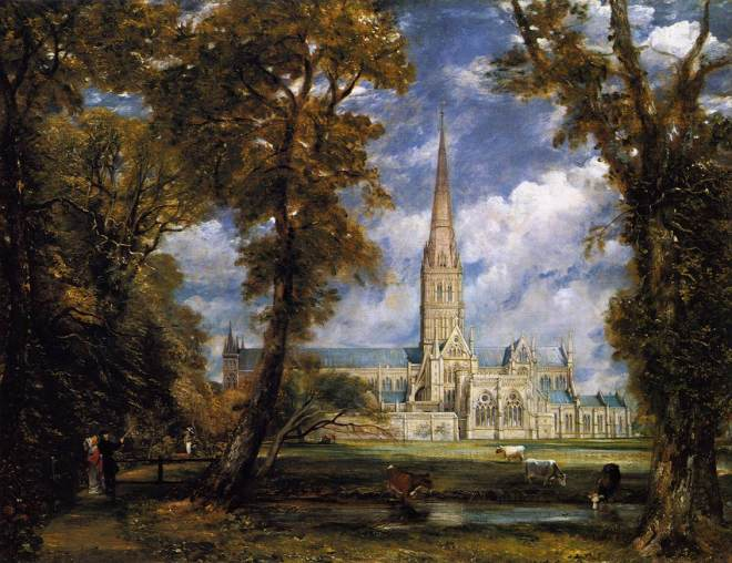 Constable-Salisbury Cathedral-1825