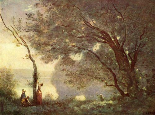 Corot-souvenir de Mortefontaine