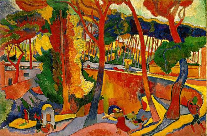 Derain-The Turning Road lEstaques