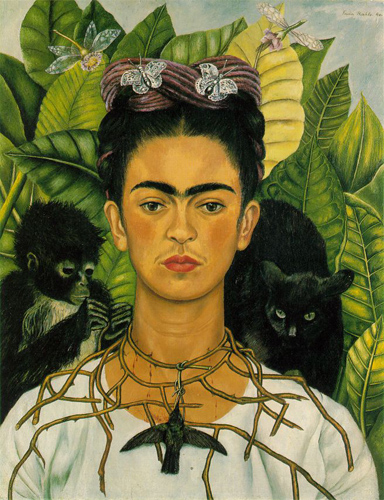Frida Kahlo-self portrait