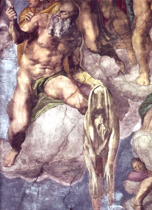 michelangelo-Last judgement-detail