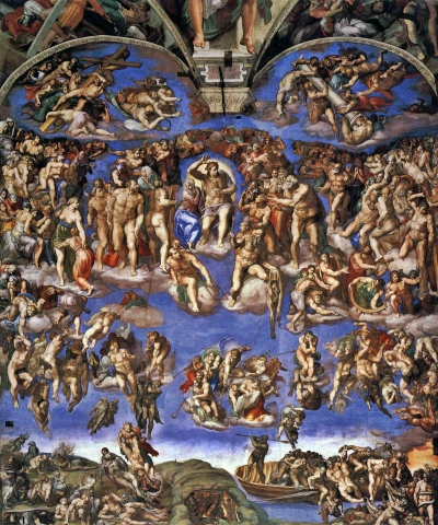 michelangelo-Last judgement