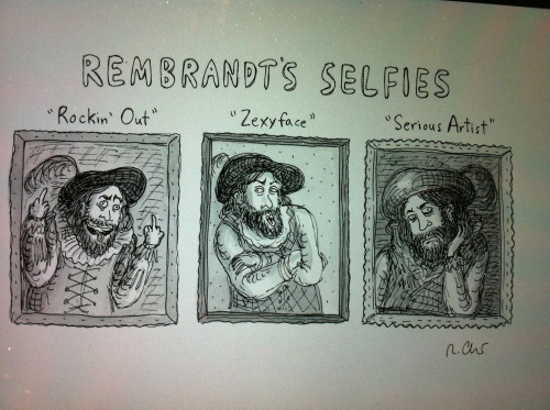 roz chaz selfie 001