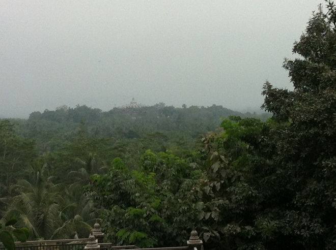 Borobodur from hotel terrace-1