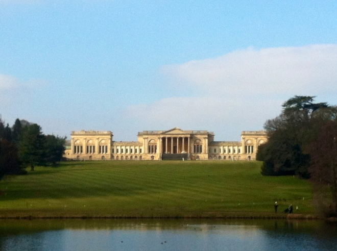 Stowe gardens-house