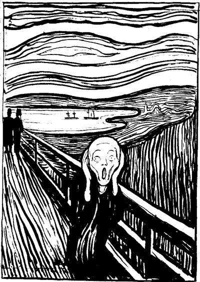 The Scream lithography
