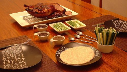 Peking Duck complete dish-3
