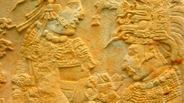 maya bas relief