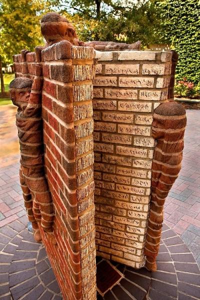 brick-book-statue